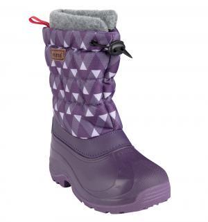 Ботинки , цвет: сиреневый Reima