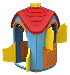 Домик игровой  разборной, цвет:голубой/красный Palplay