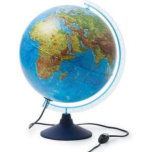 Интерактивный глобус Земли  физико-политический с подсветкой, 320мм Globen