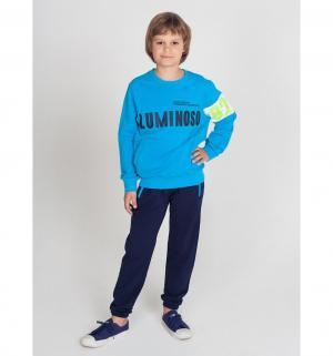 Джемпер  Пляж, цвет: синий Luminoso