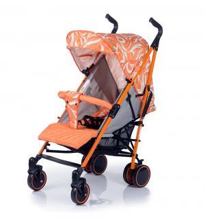 Коляска-трость  Handy, цвет: white/orange BabyHit