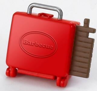 Игровой набор  Семейный пикник с багажником для красного автомобиля Sylvanian Families