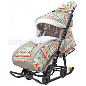 Санки-коляска  Snow Galaxy Luxe R-Toys