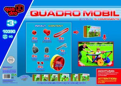Конструктор крупногабаритный Mobile 15 элементов Quadro