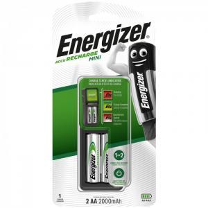 Зарядное устройство Mini с аккумуляторами AA (HR06) 2000mAh Energizer