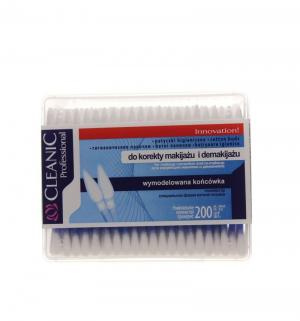 Ватные палочки для ежедневной гигиены  Proffesional, 200 шт Cleanic