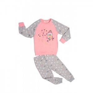 Комплект для девочки RP1371 (лонгслив, брюки) Roly Poly