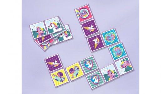 Игра Карточки Единороги Domino game 32 шт. Totum