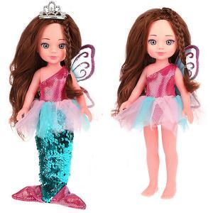Кукла 2-в-1  «Волшебное превращение» Фея-русалка, 31 см Mary Poppins. Цвет: разноцветный