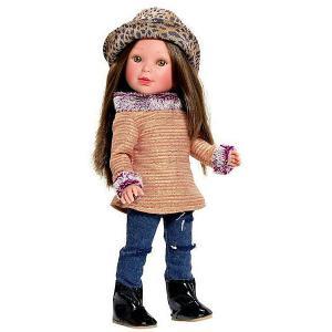 Кукла  Pre-spring Паулина, брюнетка с челкой Vestida de Azul