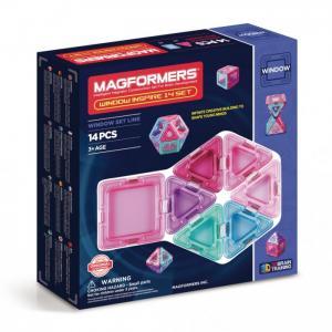 Конструктор  Магнитный Window Inspire 14 set Magformers