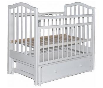 Детская кроватка  8 3D с ящиком (маятник универсальный) Лаура