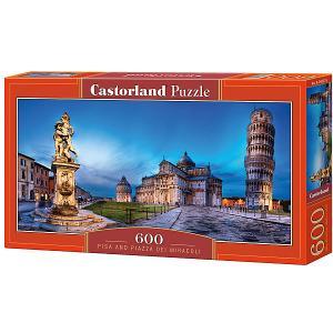 Пазл  Пизанская башня 600 деталей Castorland