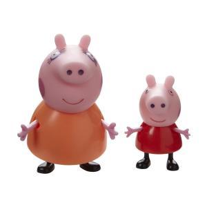Игровой набор  Семья Пеппы розовый-красный Peppa Pig
