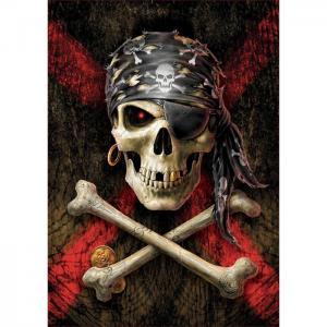 Пазл Пиратский череп 500 деталей Educa