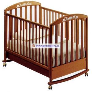 Детская кроватка  Zoo 125х65 (качалка) Pali