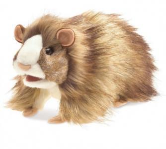 Мягкая игрушка  Морская свинка 25 см Folkmanis