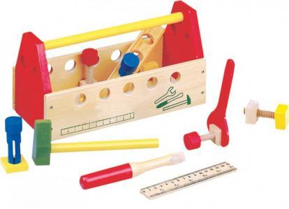 Деревянная игрушка  Ящик с инструментами Bino