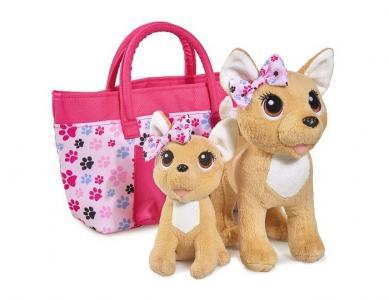 Мягкая игрушка  Плюшевые собачки Счастливая семья Chi-Chi Love