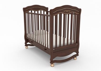Детская кроватка  Шарлотта люкс качалка Гандылян