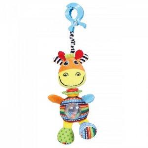 Подвесная игрушка  на прищепке Жираф Джиджи 36x14 см Biba Toys