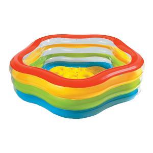 Бассейн  разноцветный 185 x 180 53 см Intex