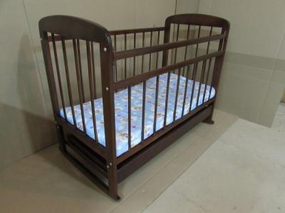 Детская кроватка  8 120x60 см (качалка) Мишутка