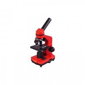 Микроскоп  Rainbow 2L, 40х-400х Levenhuk. Цвет: оранжевый