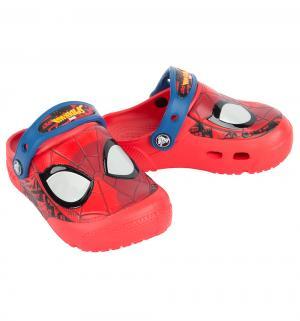 Сабо  FL SpiderMan Lght Clog K Flame, цвет: красный Crocs