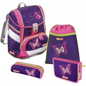 Ранец KID Shiny Butterfly с наполнением Step By