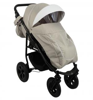 Прогулочная коляска  Panda, цвет: белый/бежевый Prampol