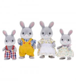 Игровой набор  Жители страны Сильвании Семья серых кроликов Sylvanian Families