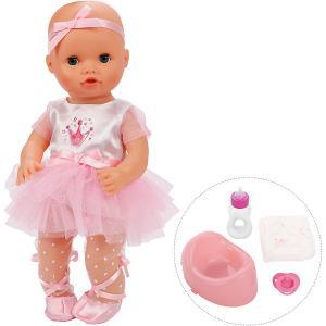 Кукла-пупс  Корона Уроки заботы, Балерина, 36 см Mary Poppins. Цвет: розовый