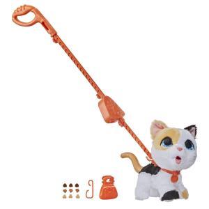 Мягкая игрушка  Шаловливый питомец (большой) Сat цвет: белый/черный/рыжый FurReal Friends