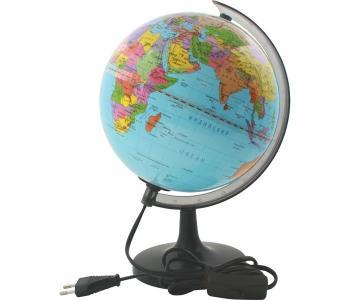 Глобус политический с подсветкой 20 см новая карта Rotondo