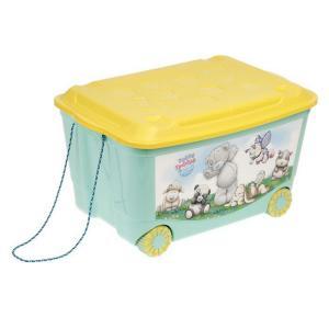 Ящик для игрушек  Me to You, цвет: зеленый Бытпласт