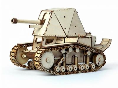 Танк СУ-18 (564 детали) Lemmo