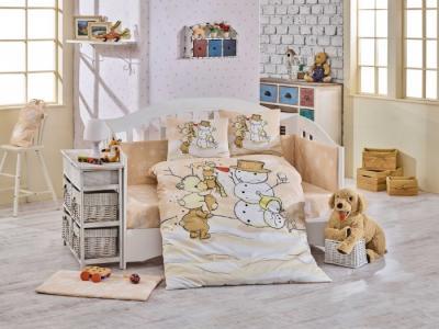 Комплект в кроватку  Snowball 100х150 см (10 предметов) Hobby Home Collection