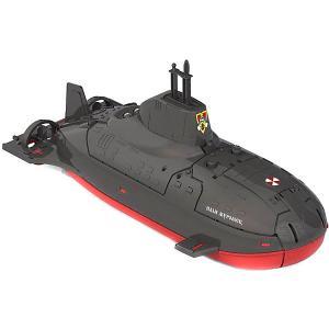 Подводная лодка разнообразит игру в воде или на улице во дворе. Нижняя часть колесиках. Под крышкой находи Нордпласт. Цвет: черный
