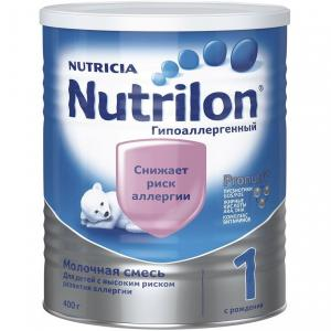Молочная смесь  1 Гипоаллергенный 0-6 месяцев, 400 г Nutrilon