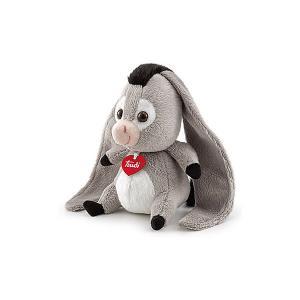 Мягкая игрушка  Ослик-ушастик в почтовом ящике Love boх Trudi. Цвет: серый
