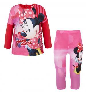 Комплект джемпер/брюки , цвет: красный Sun City
