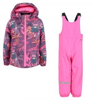 Комплект куртка/брюки , цвет: розовый Lassie