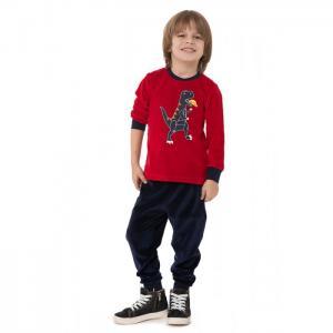 Комплект для мальчика RP1334 (лонгслив, брюки) Roly Poly
