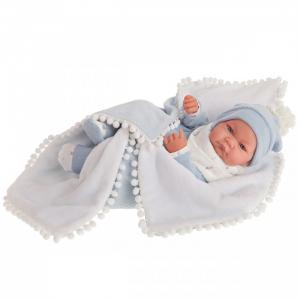Кукла Мио в голубом 42 см Munecas Antonio Juan