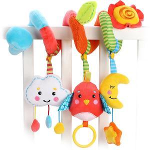 Растяжка  Лесная сказка, с игрушками Жирафики. Цвет: разноцветный