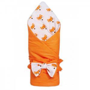 Конверт-одеяло на выписку демисезонное Лисички Чудо-чадо