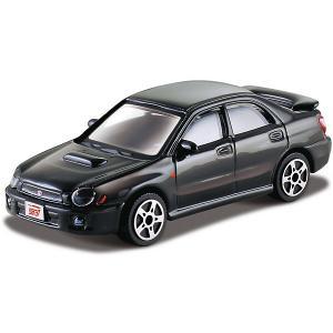 Машинка  Subaru Impreza WRX STI, 1:43 Bburago. Цвет: черный