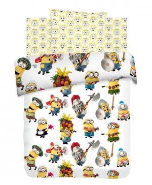 КПБ 1,5 бязь Миньоны (70х70) Angry Birds