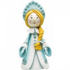 Создай куклу Снегурочка К013 Волшебная мастерская